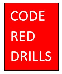 2018-2019 Code Red Drill Information