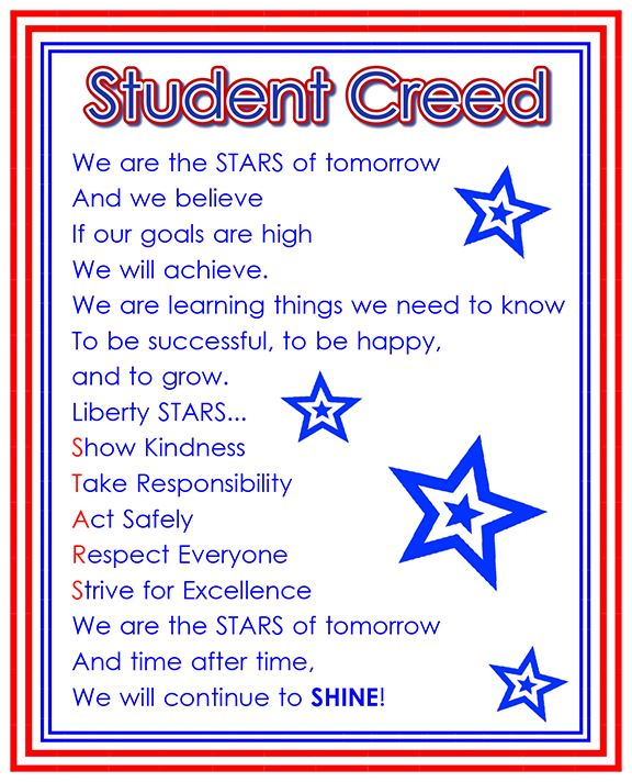 Student Creed