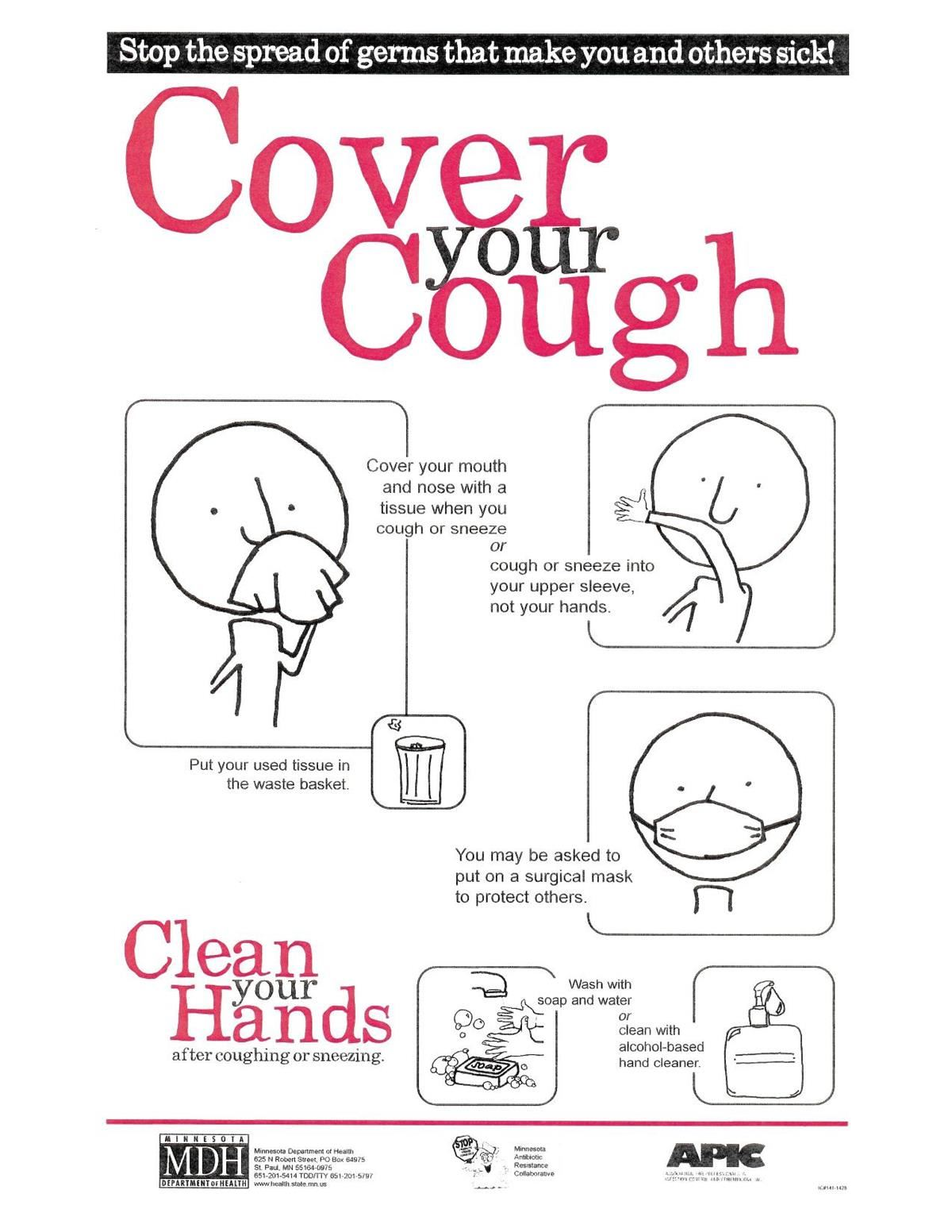 cover your cough corona