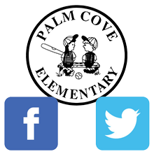 Palm Cove Elementary is on Twitter and Facebook!