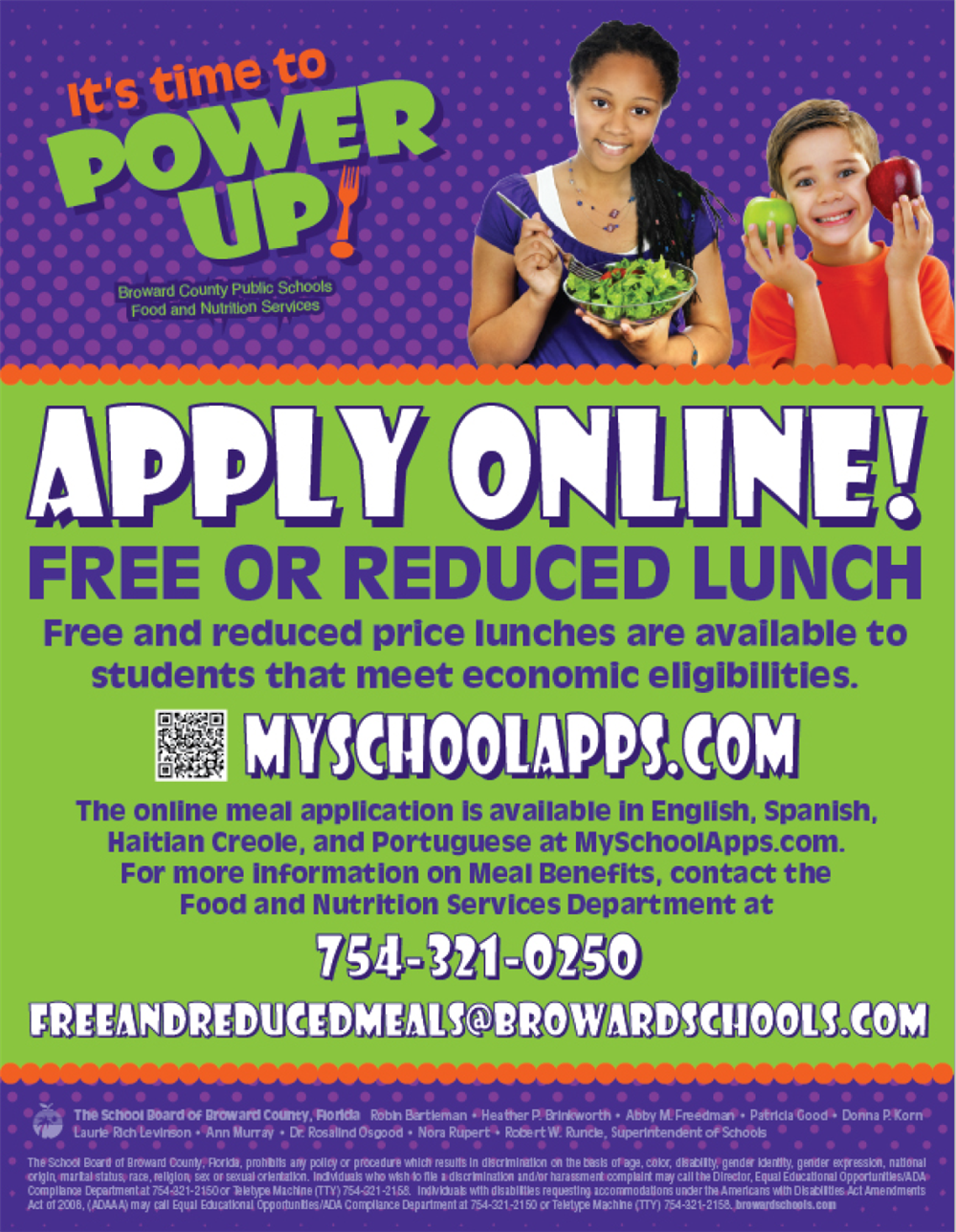 Free or Reduced Lunch Benefits