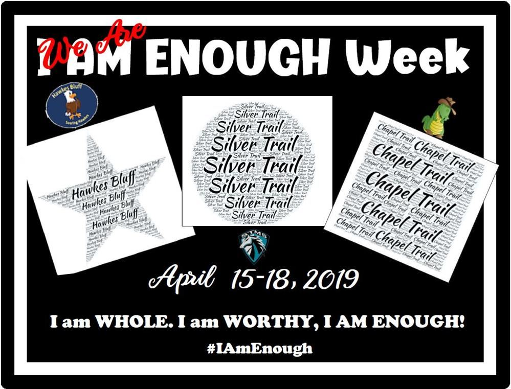 I am enough flyer
