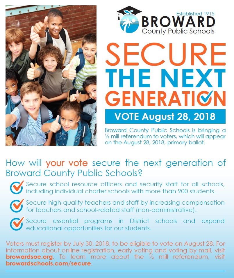 Vote for the Next Generation Flyer
