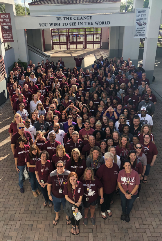 Marjory Stoneman Douglas Teachers thank you for your support