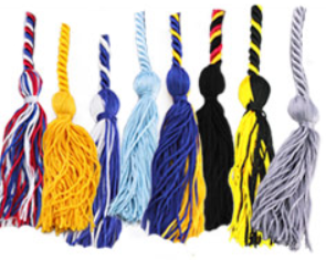 Silver Cord for Senior Graduation