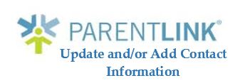 Parent Link - Update Contact Information