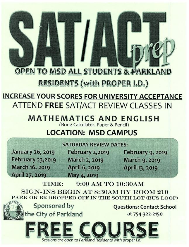 Free SAT/ACT Prep Course