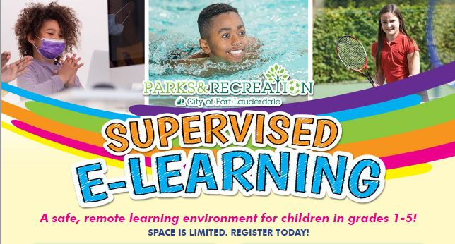 Supervised E-Learning Flyer