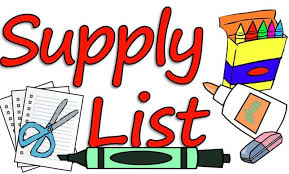 2019-2020 Suggested Supply Lists & Store