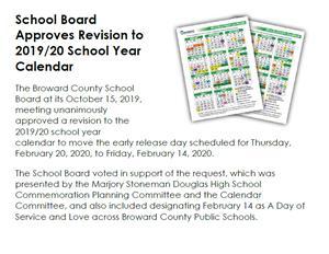 Calendar Revision Information
