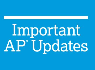 Important AP Updates!