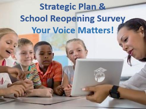 Take the District's School Reopening Survey Today!