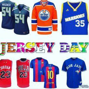 Jersey Day: Thursday, February 21, 2019