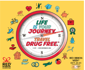 Get ready for Red Ribbon Week® October 23-31