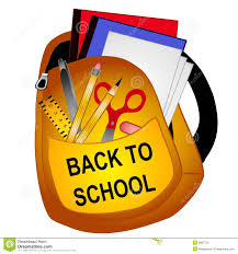 Back To School  Wed., August 15, 2018