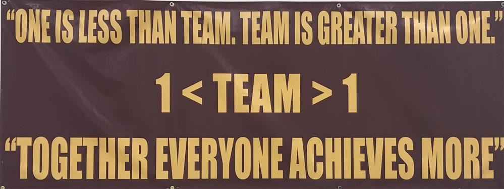 """TEAM-Together Everyone Achieves More"""