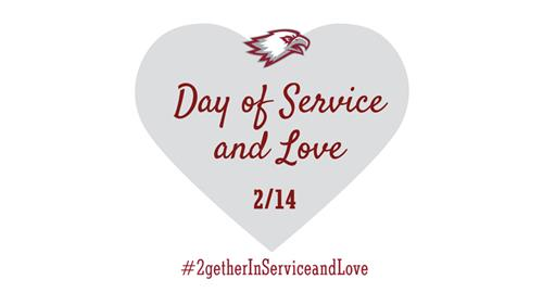 Heart for a day of love and service