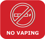 No Vaping!