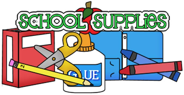 Grade Level School Supplies list for 2018-19