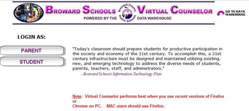 beep broward schools virtual counselor