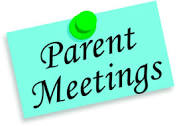 Western Zone Parent Meeting
