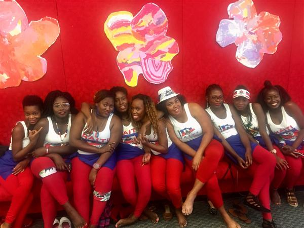 Haitian Flag Day Dancers 2017