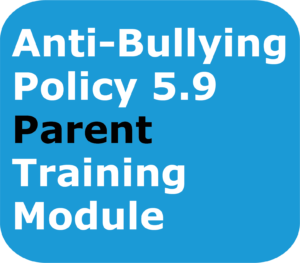 Anti-Bullying-Parents/Caregivers Training Module