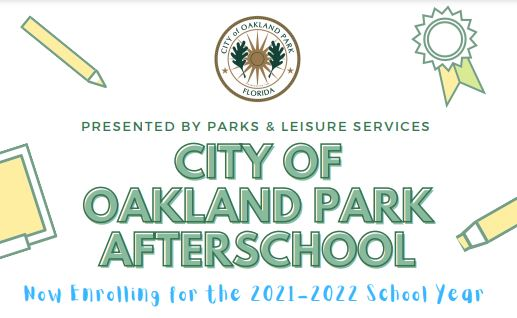 Aftercare will be provided by the City of Oakland Park at Lloyd Estates Elem