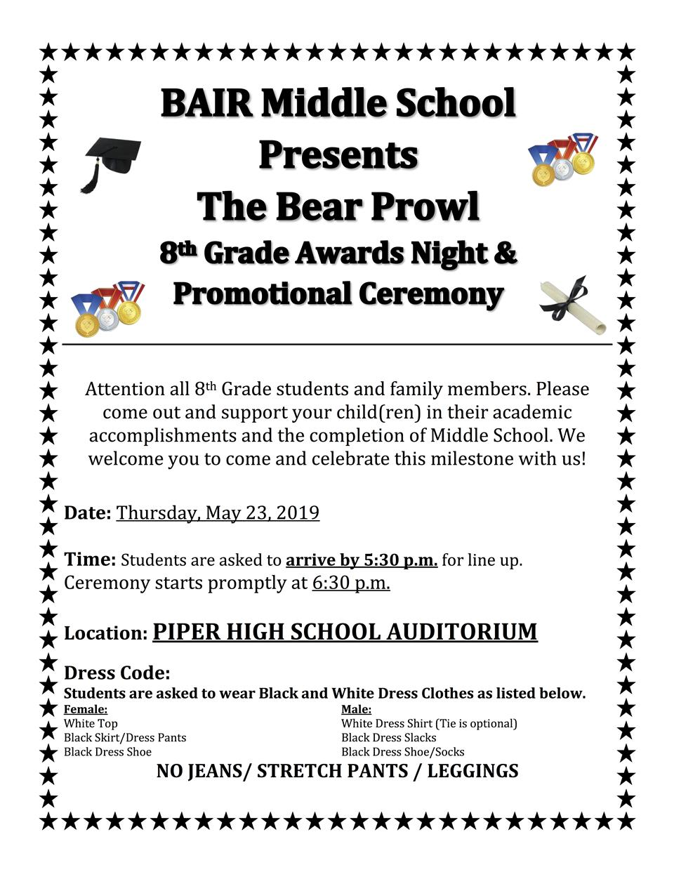f76beb8ef38 8th Grade Promotion Ceremony ...
