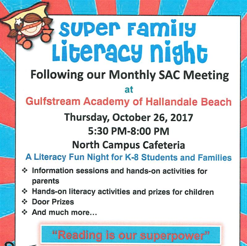 Gallery Of Events Literacy Night