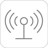 Sound signals coming from a device