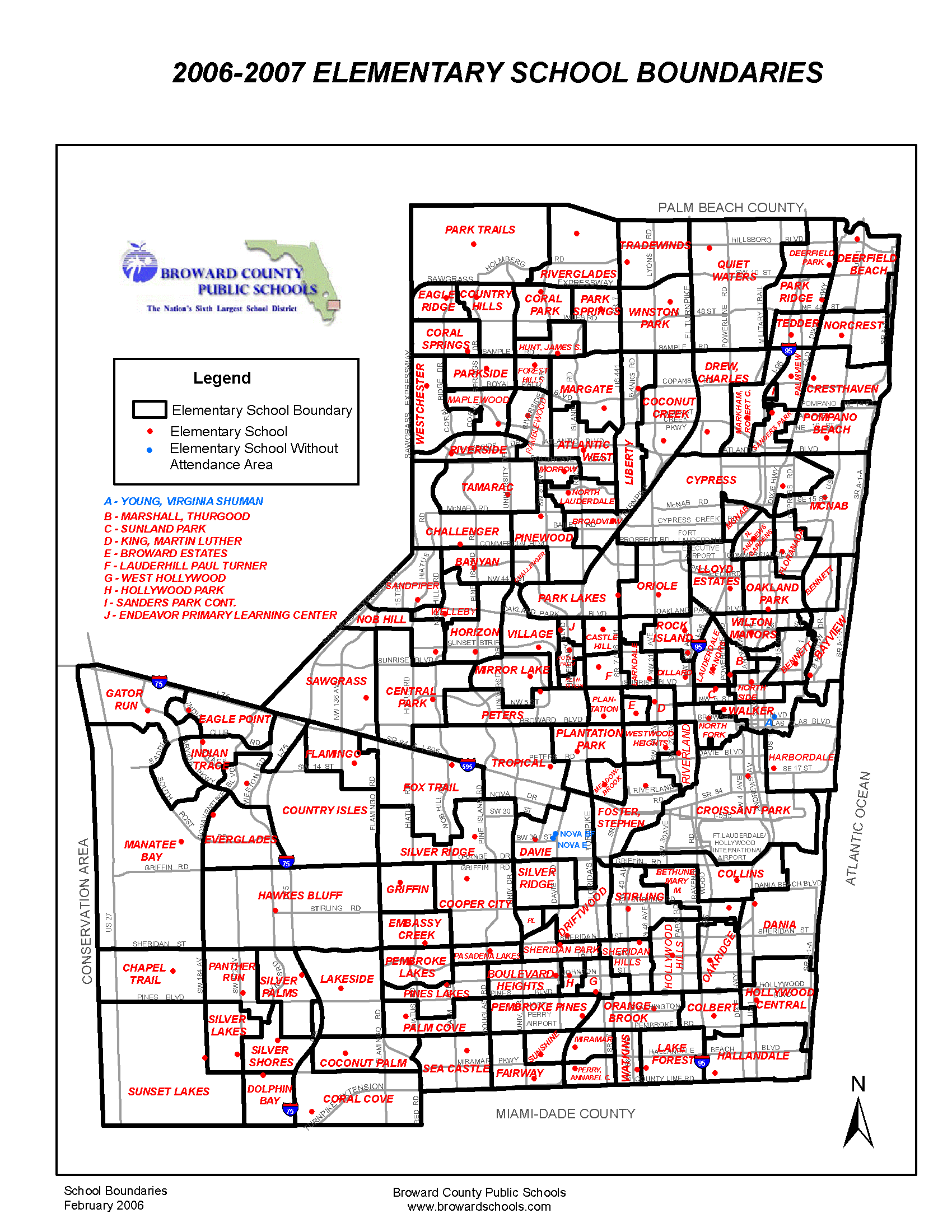 Maps and Data / By School Level