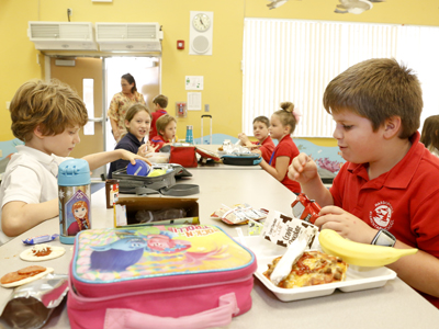 BCPS Expands Afterschool Supper Program Over 100 Schools Now Offer Nutritious Meals in Aftercare Program