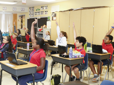 BCPS Selected to Join Verizon Innovative Learning Schools Program