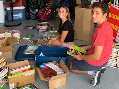 Marjory Stoneman Douglas High School Students Collect and Donate Over 1,800 Books