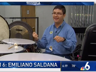 Watch NBC 6 SWAG:  See why Nova High School student Emiliano Saldana is a Student Working at Greatness.