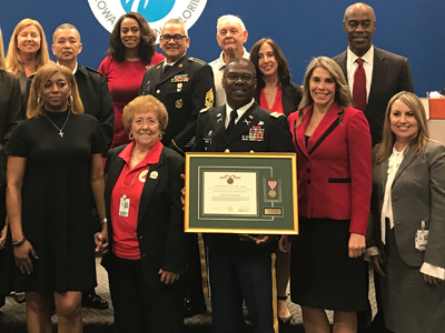 BCPS Congratulates Lieutenant Colonel (Retired) Kenneth Green for Receiving National Director of Army Instruction of the Year Award January 17, 2020