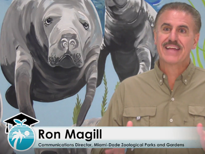 Ron Magill Visits New River Middle School
