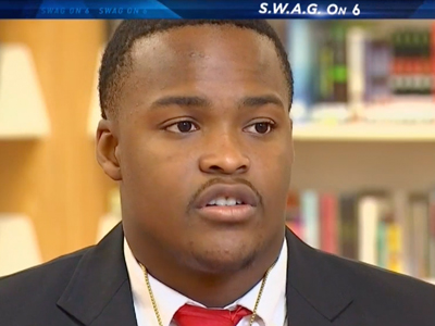 SWAG on NBC 6: Miramar High School Senior Leads by Example