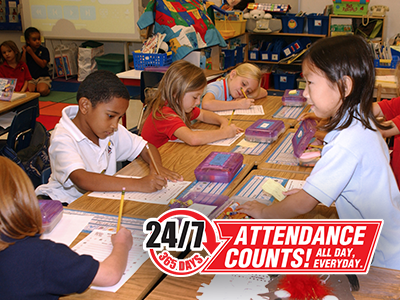 BCPS recognizes September as Attendance Awareness Month.