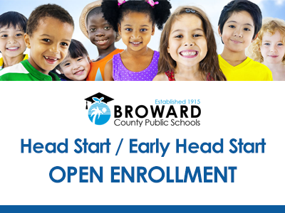 Head Start/Early Head Start Open Enrollment