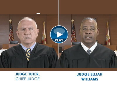 Judge Tuter and Judge Williams, both of the 17th Judicial Circuit Court, provide stern warnings about making threats and what will happen if you bring a weapon into our schools.