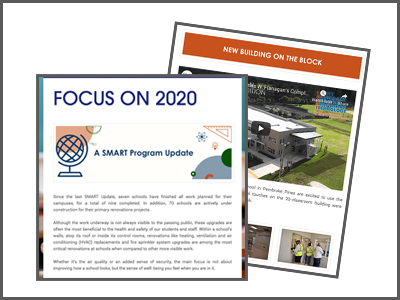 The latest SMART Program Update is now available. Click the link below to check out some of the work and other activity that occurred over Winter Break.