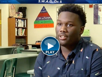 NBC 6 SWAG: See why Blanche Ely High School's Timothy Jones is a Student Working at Greatness.