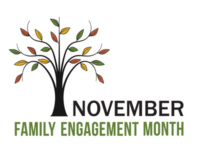 November is Family Engagement Month. Click to see how you can support your child's education.